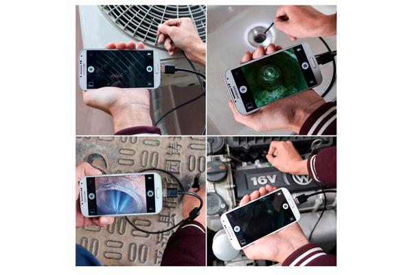 Области применения гибкой камеры для телефона