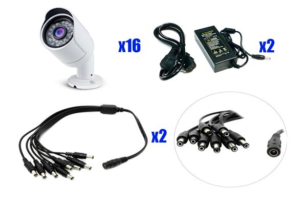 Набор AHD-видеонаблюдения PST AHD-K016CL
