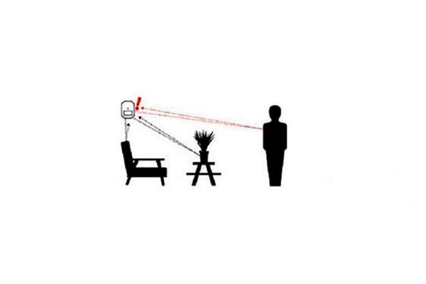 Принцип работы микроволнового датчика движения настенного типа