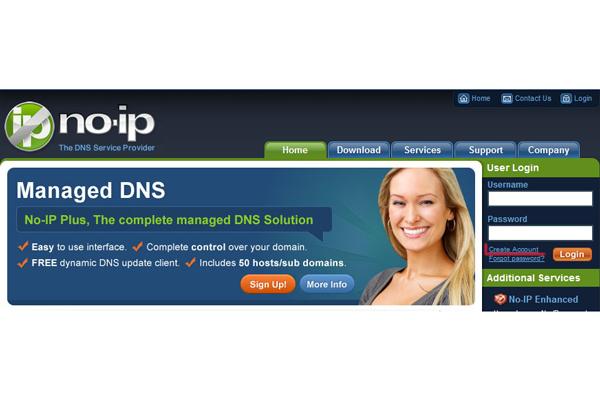 DDNS-сервис Noip.com