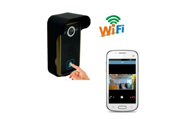 Видеоглазок с передачей связи по Wi-Fi