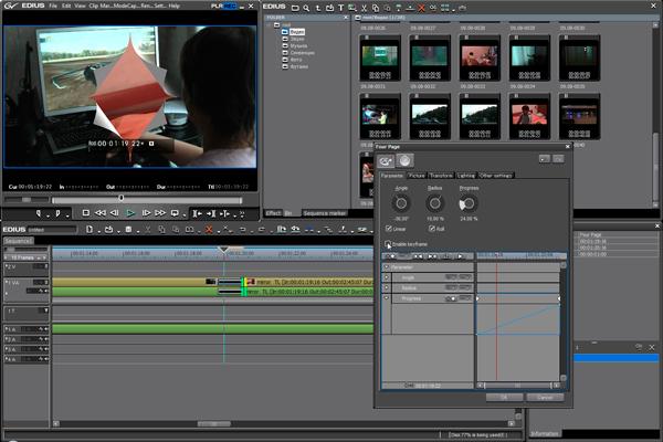 Программа с помощью которой можно улучшить качество видео Edius-5