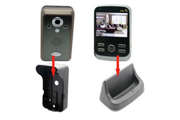 Видеодомофон с датчиком движения Kivos Black