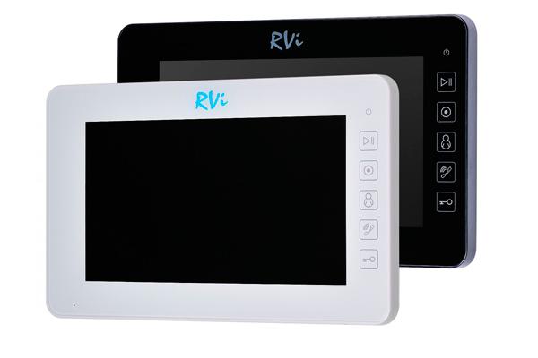 Домофоны с цветным экраном RVI
