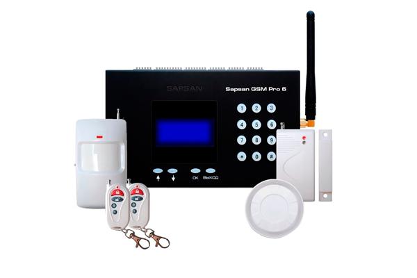 Звуковая охранная сигнализация Sapsan GSM Pro 6