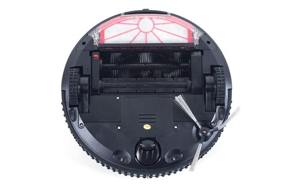 Вид с под низу робота-пылесоса Endever Sky-Robot 88