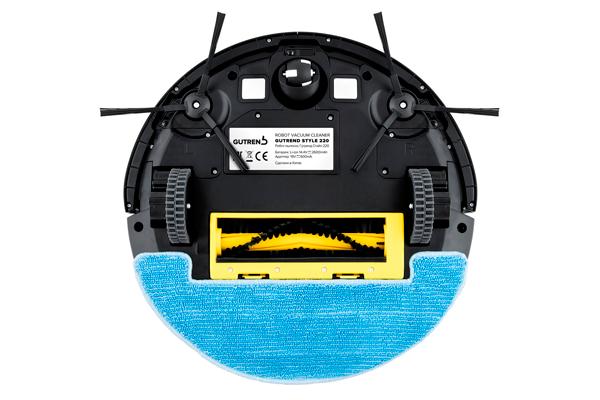 Вид с под низу робота-пылесоса Gutrend Style G220W