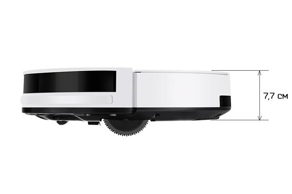 Высота робота-пылесоса iLife V4