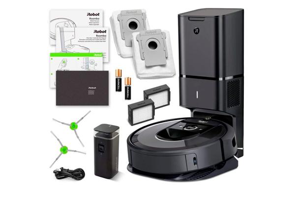 Комплектация роботизированного пылесоса iRobot Roomba i7+