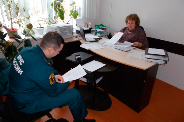 Проверка документов инспектором
