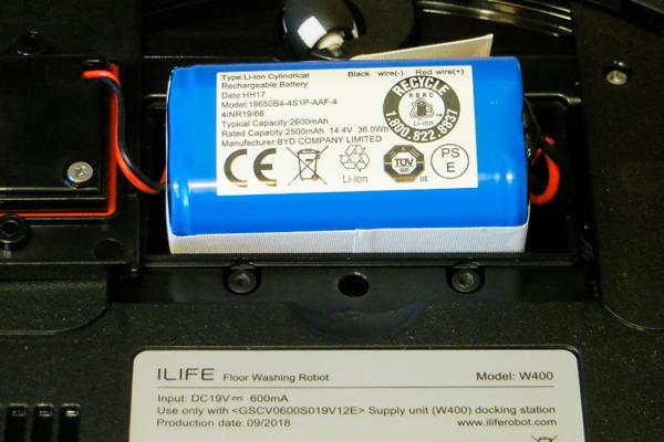 Аккумуляторная батарея робота-пылесоса iLife W400