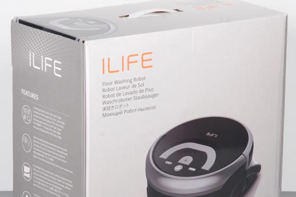Робот-пылесос iLife W400 в коробке
