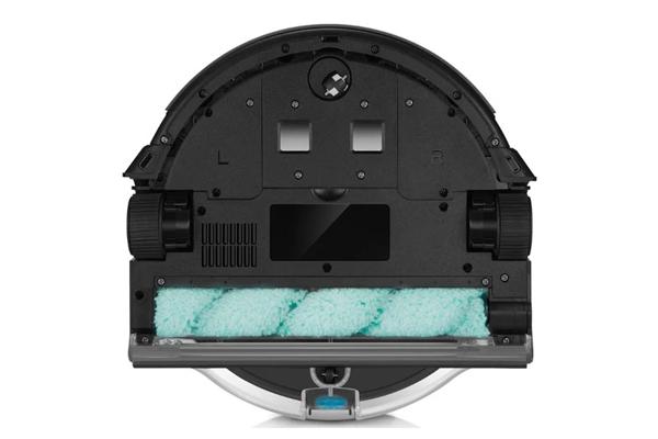 Вид с под низу робота-пылесоса iLife W400